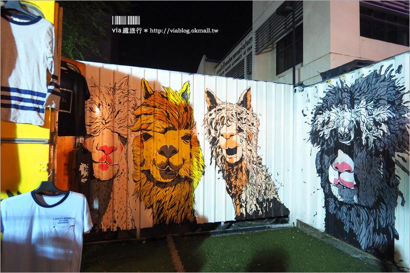 【曼谷新夜市】ARTBOX BANGKOK~超好拍!白色貨櫃屋打造出文青風格新夜市!