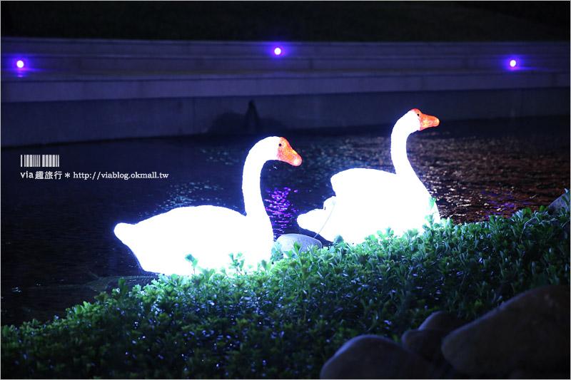 【台中新景點】柳川親水河道~台中版清溪川!景觀河岸藝術裝置越夜越美麗!