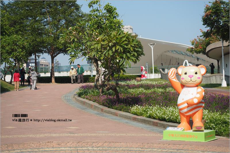 【台中泰迪熊2016】樂活熊城市嘉年華~台中文心公園熱鬧登場!百隻造型小熊萌翻天!