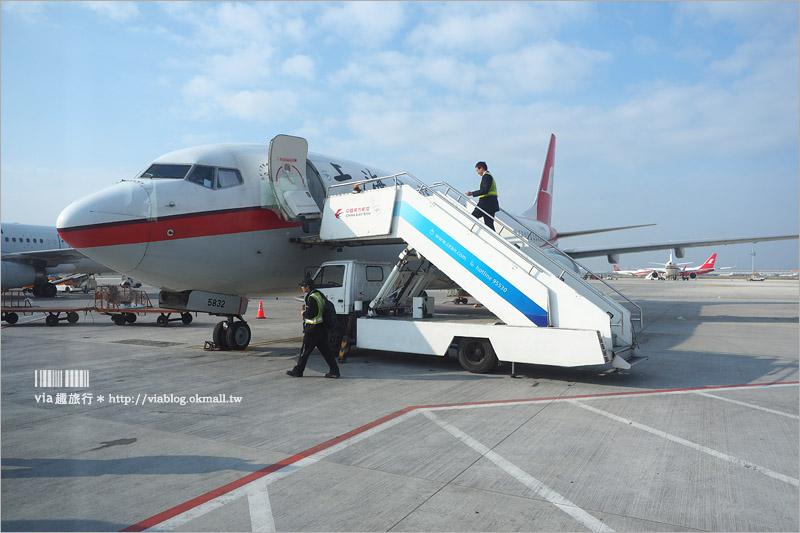 【上海自由行】東方航空搭乘記~來回程全記錄‧台灣和上海的天空更近了!