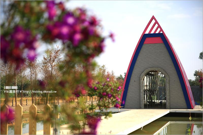 【雲林景點】珍粉紅城堡.水漾森林教堂~異國風新景點!城堡+教堂+落羽松步道拍照去!