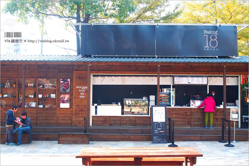 【台中甜點推薦】18度C巧克力~台中演武場新店!地點限定的菠蘿冰淇淋,濃香酥脆好好吃!