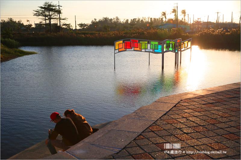 【台南新景點】台江學園/台江國家公園遊客中心~像國外渡假村風格!全台唯一水上高腳屋!