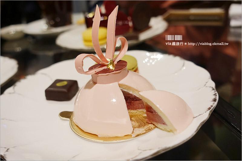 【台北下午茶推薦】台北文華餅房~法籍甜點主廚坐鎮‧高貴不貴的甜點饗宴!麵包大好吃喔!