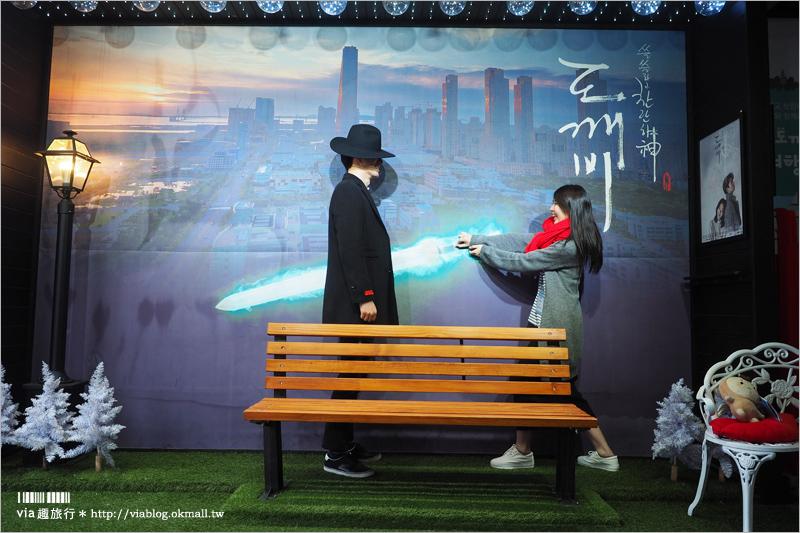 【韓國仁川景點】「松島中央公園」追鬼怪景點~dal.komm COFFEE、慶源齎、松島韓屋村一次玩透透!