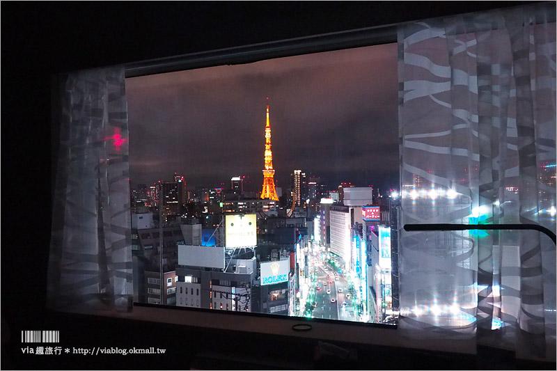 【東京飯店推薦】Remm Roppongi六本木(レム六本木)~新開幕!地點超方便!房間看得到東京鐵塔太幸福了!