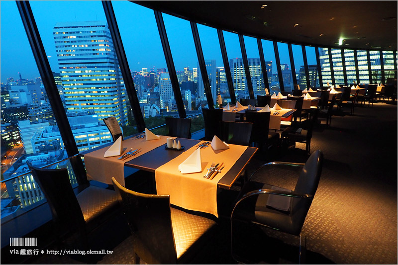 【東京飯店】新大谷飯店(Hotel New Otani Tokyo)~經典奢華!高空旋轉餐廳+百年日式庭園~在城市中也能渡假趣!