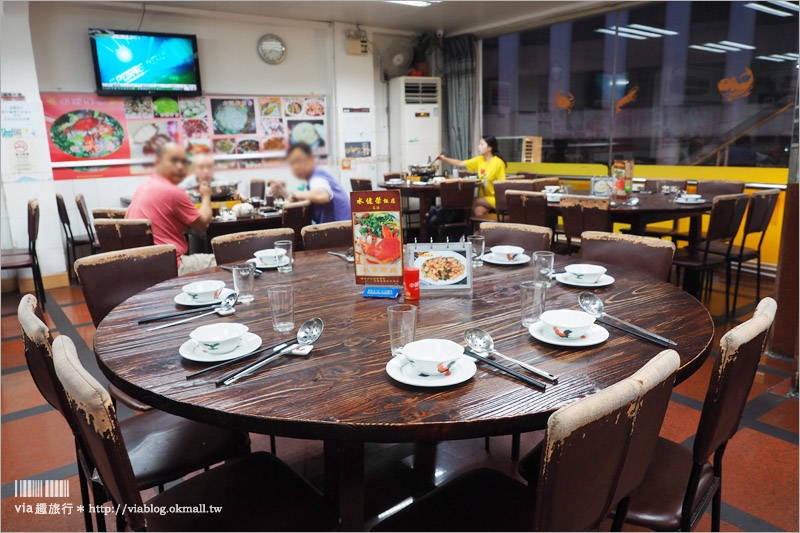 【澳門美食推薦】水佬榮海鮮飯店~無敵美味「花甲蟹鍋」登場!黃金蝦也好吃到讓我們舔手指!