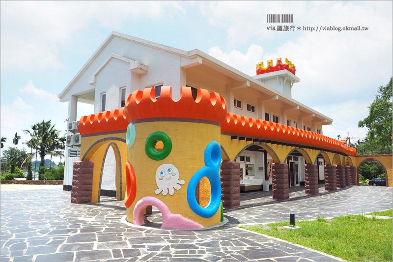 【嘉義新景點】中埔遊客中心~山中童話城新落成!親子出遊的拍照新亮點!