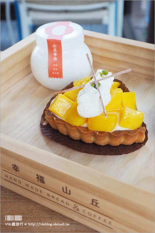 【嘉義餐廳】幸福山丘HappyHill~超夯貨櫃餐廳,隱身山林中的美味烘培小屋!
