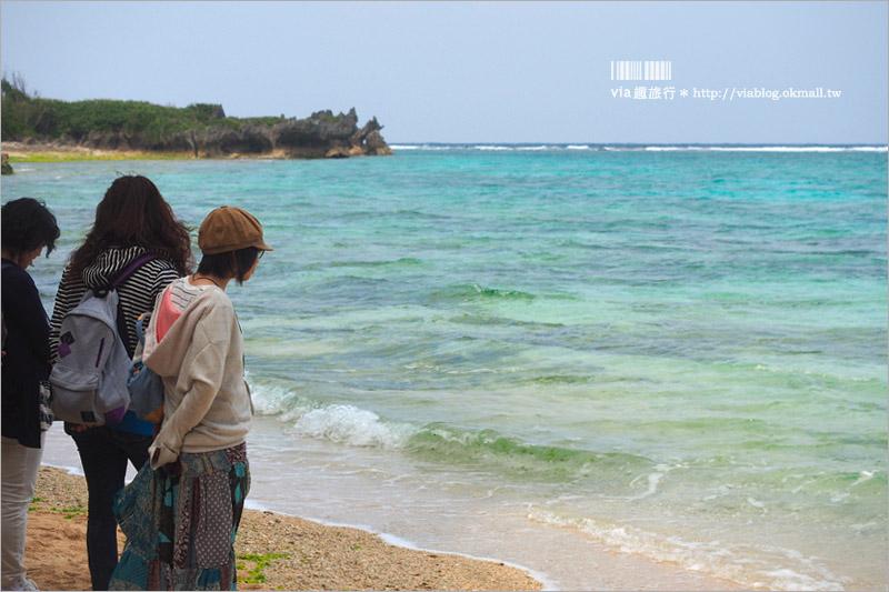 【沖繩景點】備瀨一線天(備瀬のワルミ)~小秘境旅行!夢幻的山海一線景色~來去探索療癒系旅點!