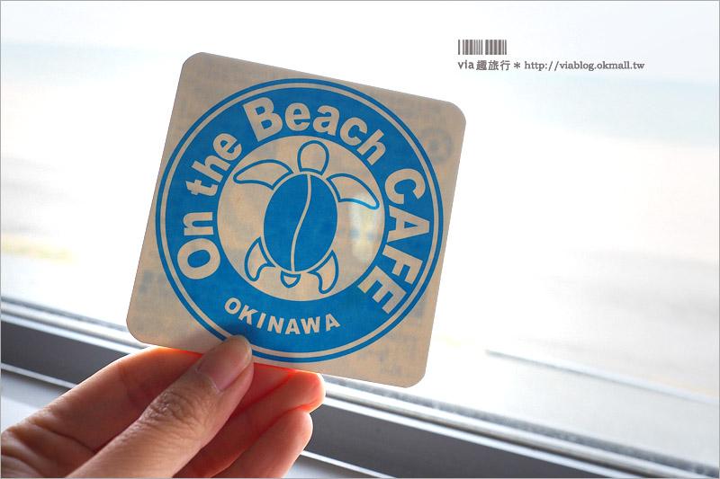【沖繩海邊咖啡館】備瀨─On the Beach CAFE OKINAWA~擁抱無敵海景的咖啡廳、SISA造型鬆餅好趣味!