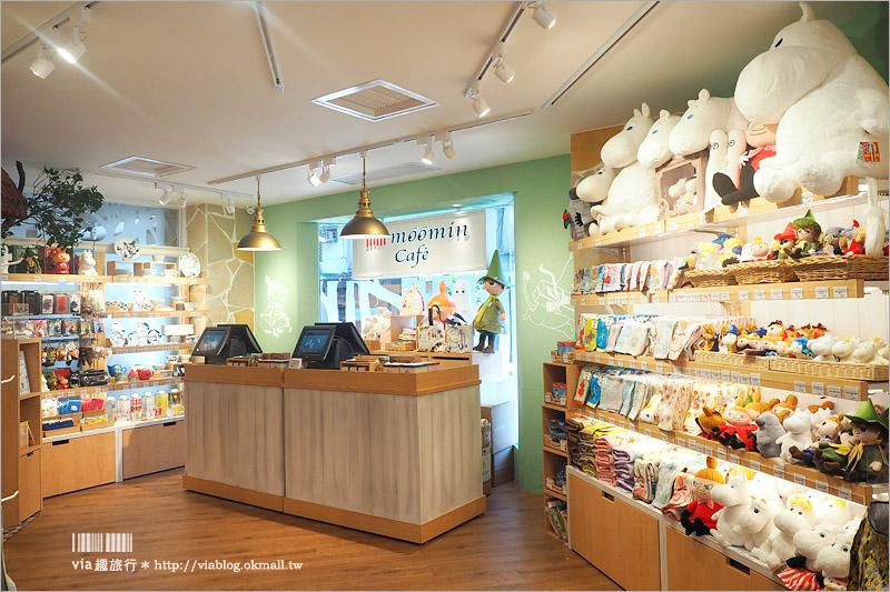 【台北餐廳】Moomin Café嚕嚕米主題餐廳~全台首間嚕嚕米餐廳插旗大安區!來去療癒的森林小屋用餐趣!