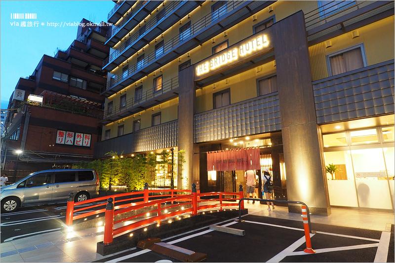 【大阪住宿推薦】心齋橋飯店 大阪橋樑飯店THE BRIDGE HOTEL~大推!評價超好、貼心服務超多的新飯店!