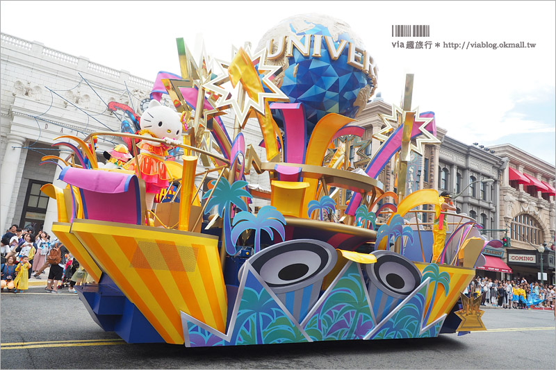 【日本環球影城】大阪環球影城遊行看這裡!《小小兵水花驚喜遊行》全場溼身嗨翻天啦!