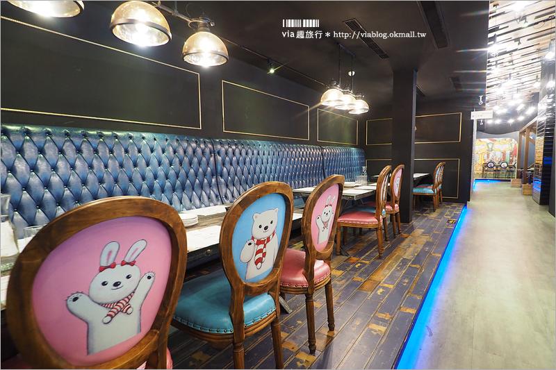 【嘉義餐廳】Sunny Queen陽光皇后義式餐廳~童話彩繪風格!親子、好友聚餐新選擇!