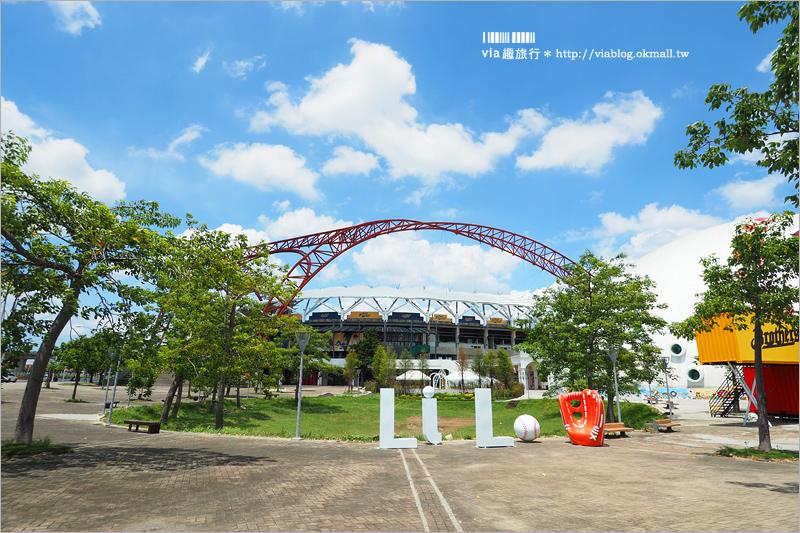【台中景點】台中棒球故事館~洲際棒球場新設施!帶孩子們走入棒球的精彩世界!