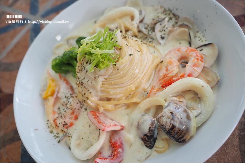 【台中餐廳】JAi宅餐廳 一中商圈餐廳~IG網美照過來!彷若歐風街景的用餐空間好好拍!
