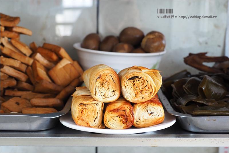 【新化美食】新化小吃推薦吃什麼?無名沙茶麵好好吃~外加古早味蛋糕當伴手禮!