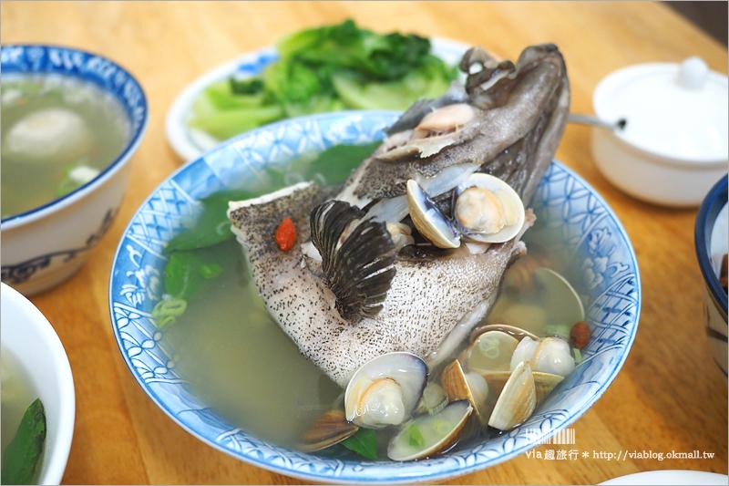 【台北新店美食】超人鱸魚湯|滷豬腳也好好吃~石斑魚更別錯過!耕莘醫院附近的推薦美食!