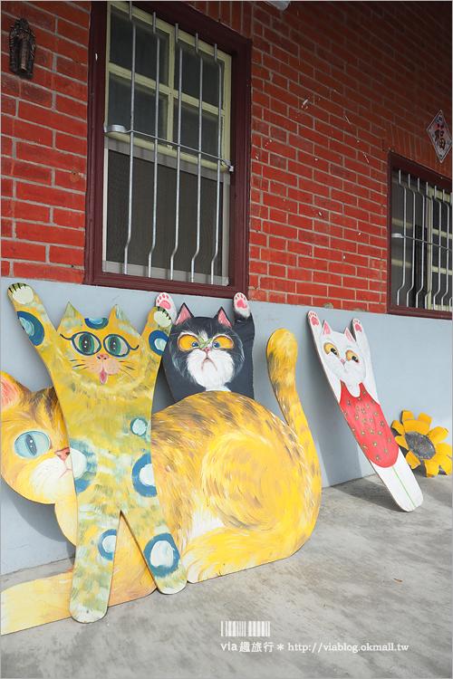 【雲林景點】西螺埤頭繪本公園~貓咪彩繪牆好古錐‧帶你走入繪本般的童話世界!