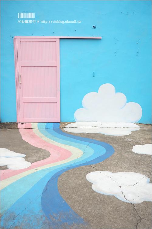 【卡里善之樹】彰化和美景點~三訪!又有新亮點!彩虹跑道、彩虹小屋、彩虹貨櫃~夢幻又繽紛!