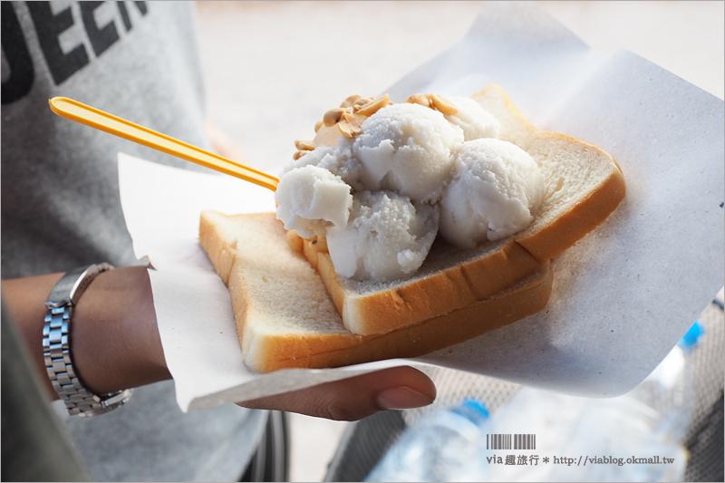 【蘭塔島自由行】沙拉當碼頭街(Saladan Pier)~超回味的椰子冰,成了我們此行最大亮點!