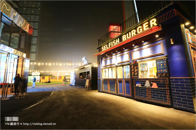 【台中貨櫃屋】UNO貨櫃市集~新景點來囉!全台最大貨櫃市集就在大遠百旁‧夜晚點燈好夢幻!(已歇業)