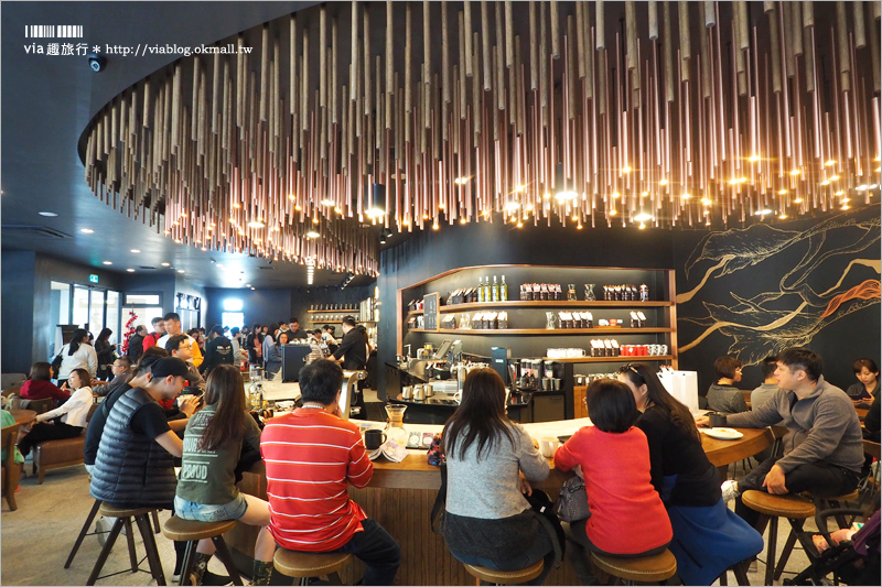 【台中星巴克】星巴克大英門市~頂級星巴克門市新開幕!還有賣咖啡啤酒好特別!