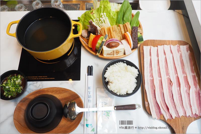 【台中火鍋】好室鍋物~台中好吃火鍋推薦!像渡假風甜點店的火鍋~高級冷藏肉片好吃唷!