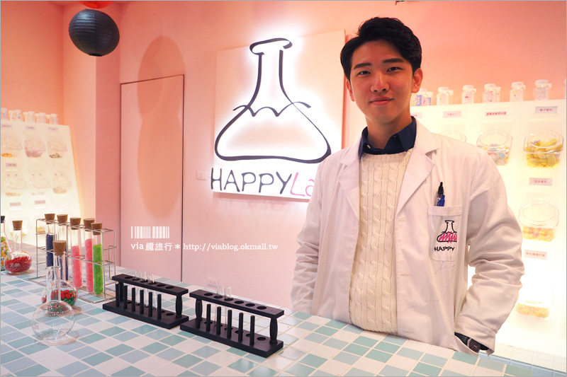 【嘉義IG景點】Happy Lab.糖果+扭蛋店!最新IG打卡景點~少女心大爆發的粉紅實驗室!