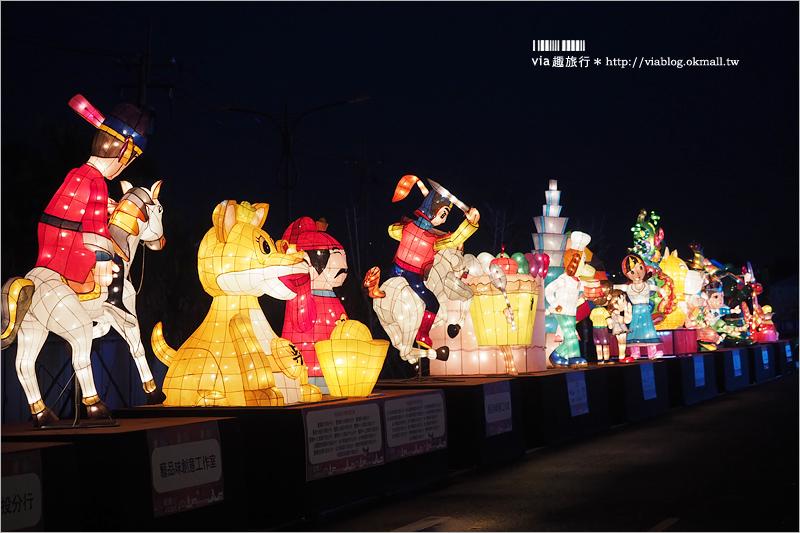 【2018南投燈會】春節過年旅遊景點~旺運出投天!燈會+沙雕+花海+水舞秀~一次大滿足!