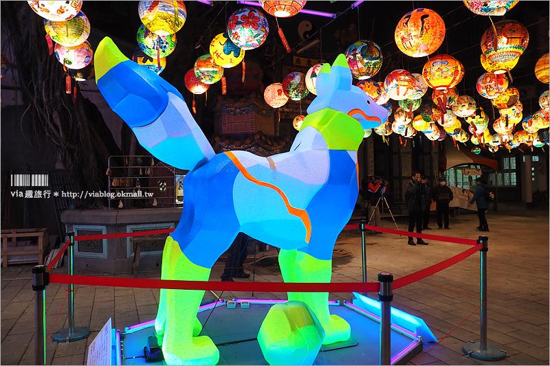 【普濟殿燈會】普濟殿燈籠~夢幻「花燈街」超漂亮!台南過年絕對要朝聖的年節限定美景!