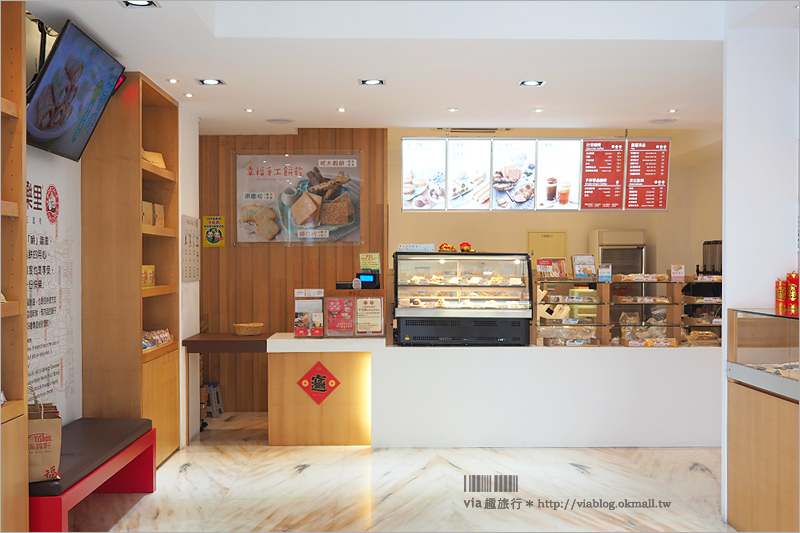 【福義軒蛋捲】嘉義必買伴手禮 博樂里咖啡館‧福義軒新分店~下午茶就來份涼蛋捲+咖啡!