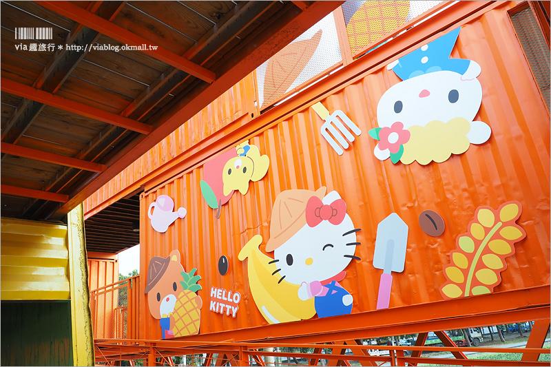 【屏東熱帶農業博覽會】Kitty彩繪稻田~萌翻天!春節旅遊就去這~KITTY在屏東等你來玩!