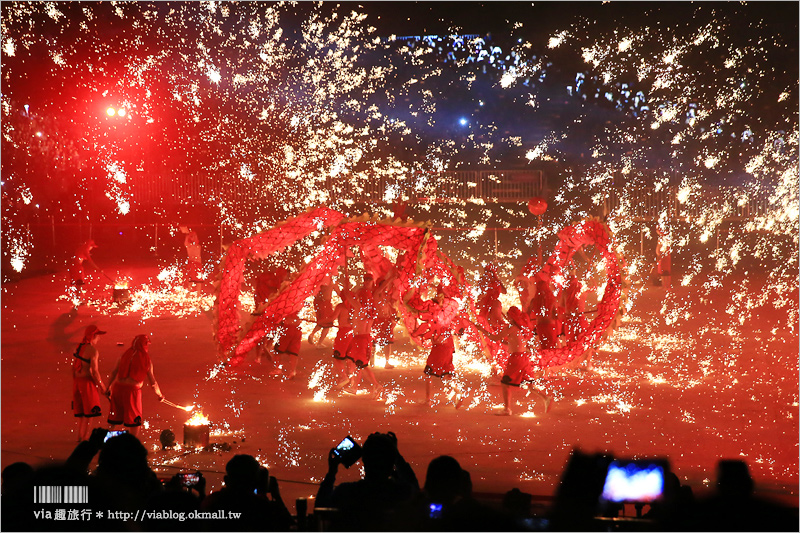 銅梁火龍》南投燈會元宵節最強表演~超精彩!看過都說值得的重慶銅梁火龍來囉!