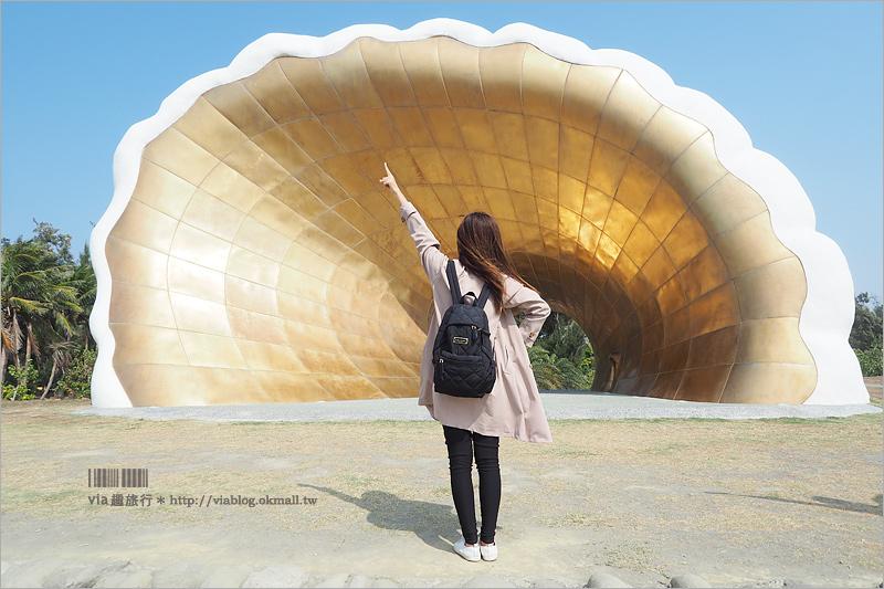 【高雄景點】旗津彩虹教堂~旗津海岸公園的地標型景點!來高雄旅行必去打卡點!