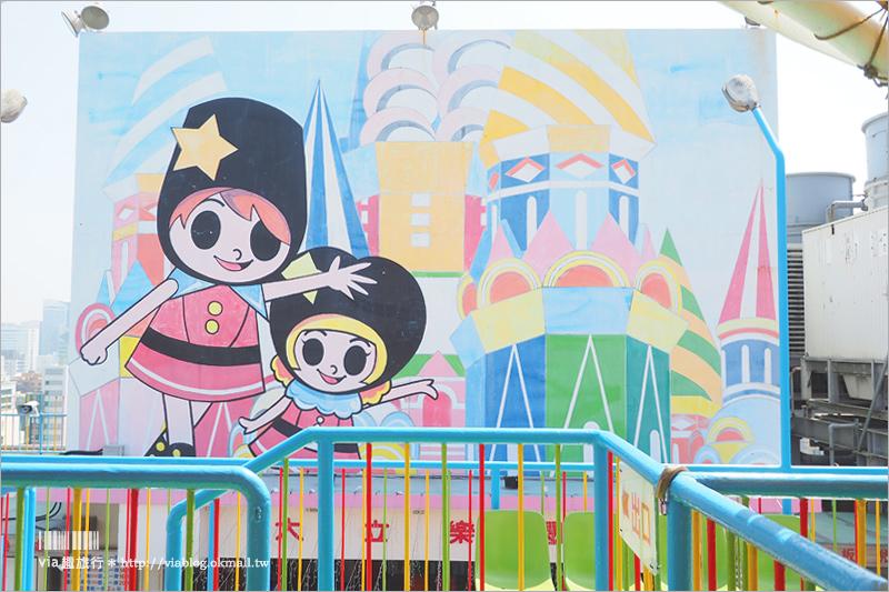 【高雄親子景點】大立百貨空中樂園|懷舊的戶外頂樓遊樂園~孩子的遊樂場、網美拍照的好去處!