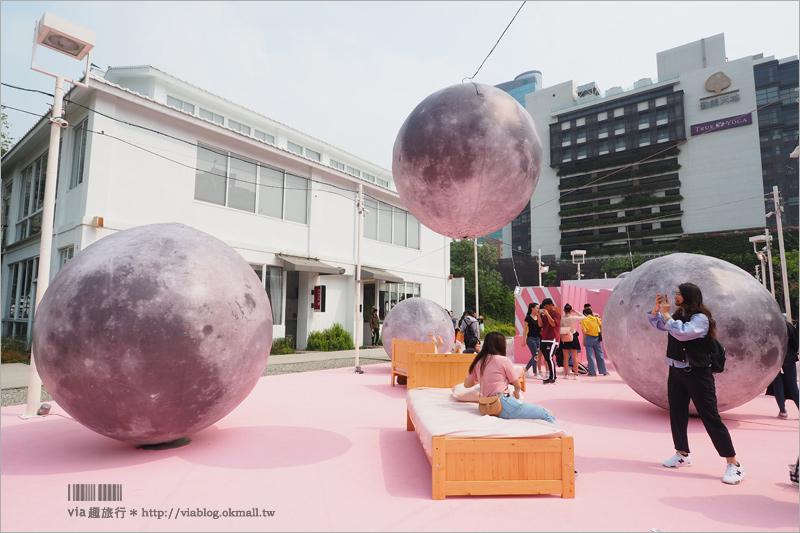 【台中勤美】勤美術館最新展:粉紅現象~全粉紅打卡點!網美們少女心大爆發!(展覽已結束)