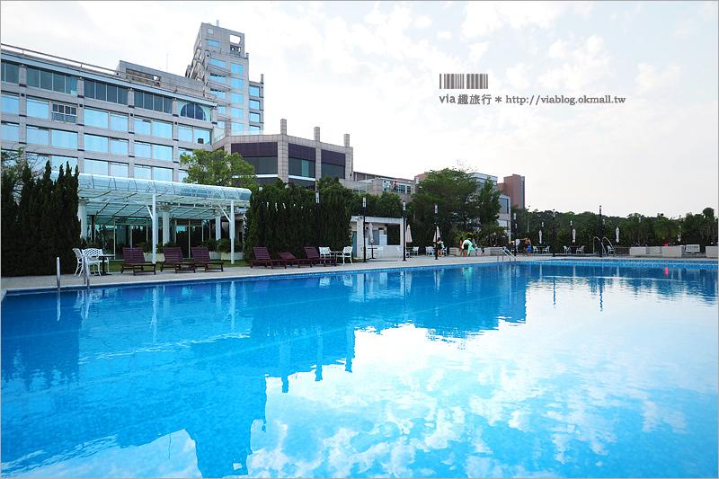 【台中飯店】清新溫泉飯店《設施篇》~露天溫泉+花園游池+戶外湯泉+兒童俱樂部~盡情暢遊!