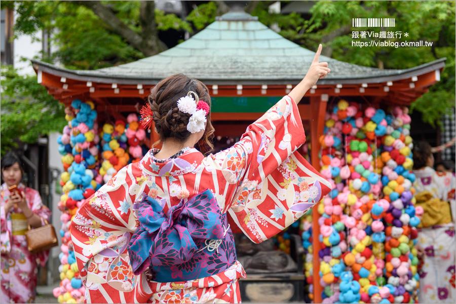 【京都和服體驗推薦】京小町和服~CP值高的和服體驗‧近清水寺交通好方便!(內有折扣碼)