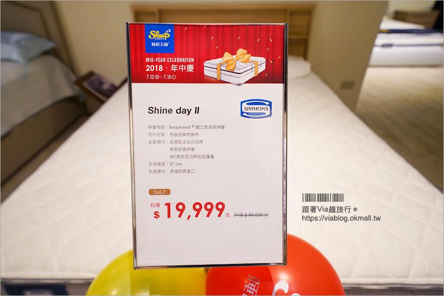 【寢具特賣】睡眠王國年中慶~入手席夢思兩萬有找!7/12~16特賣會只有五天!要買趁現在!