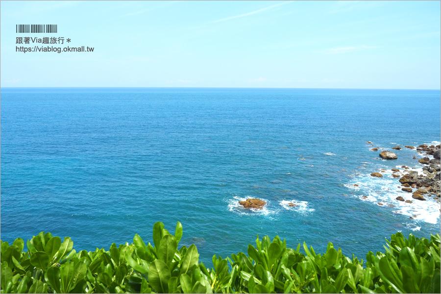 花蓮景點》豐濱天空步道/親不知子海上古道~走上斷崖邊的透明步道好刺激!大海就在腳底下!