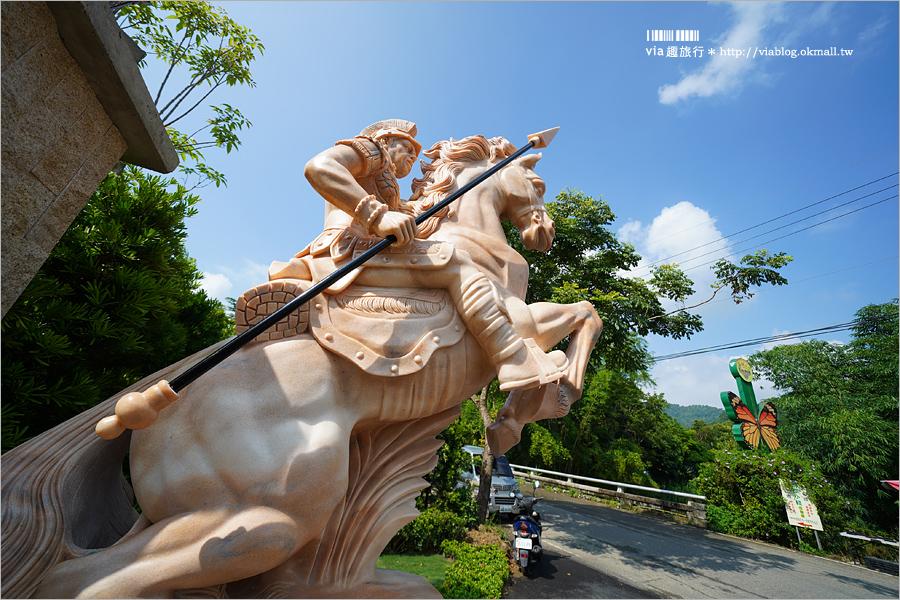 【南投景點】埔里|妮娜巧克力夢想城堡~桃米村藏歐洲城堡!夢幻巧克力觀光工廠新開幕!