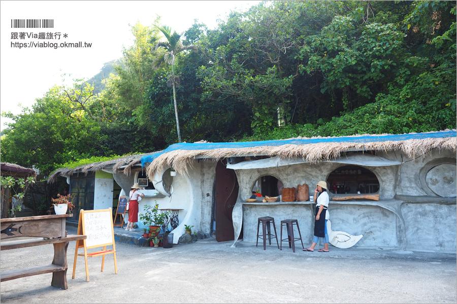 【花蓮海景咖啡館】項鍊海岸咖啡工作室~全台最夢幻鞦千‧好美!無敵海景就在眼前!