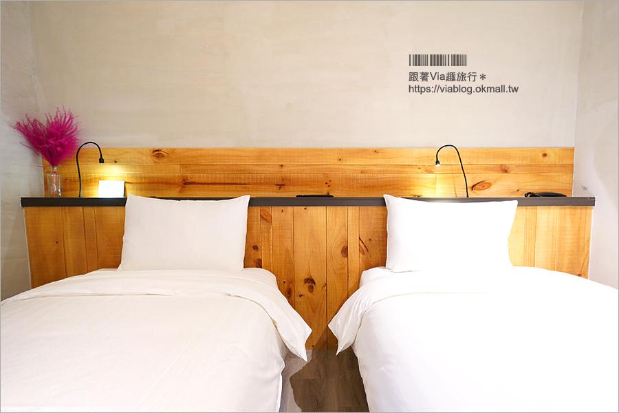 台中火車站住宿》田中央旅店~文青工業風設計旅宿!地點方便~在地味早餐好特別!