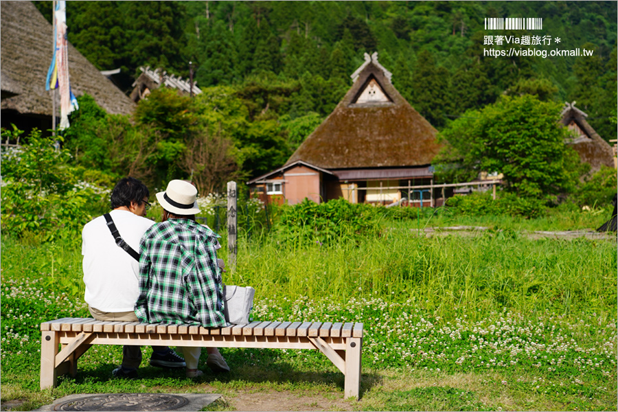 【京都旅遊】美山町かやぶきの里~綠色版美山町超美!必去~日本三大茅葺屋聚落!