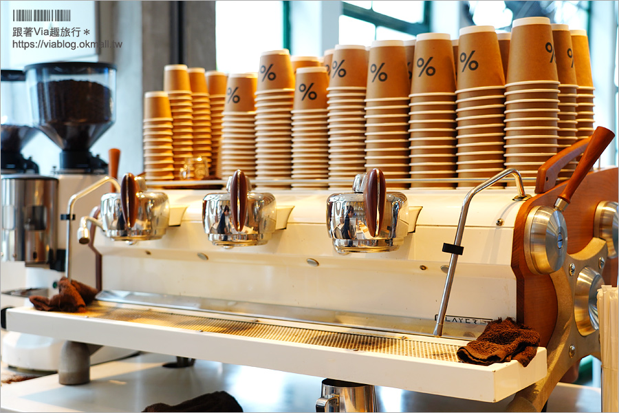 【香港咖啡推薦】%ARABICA咖啡‧天星碼頭~從京都紅回香港,文青風咖啡這裡也喝得到!