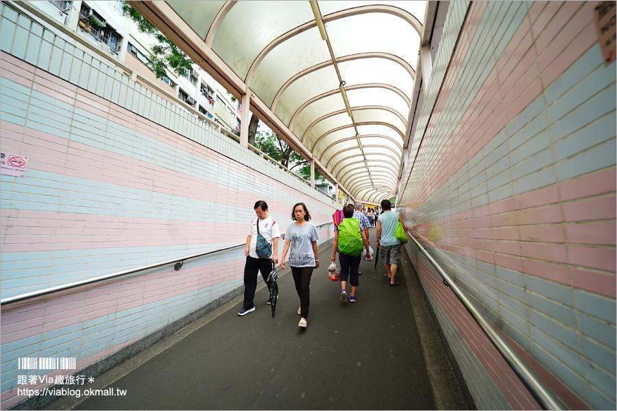【香港拍照景點】彩虹邨~最夯IG景點‧網美們集合囉!彩虹公寓+彩虹球場大好拍!