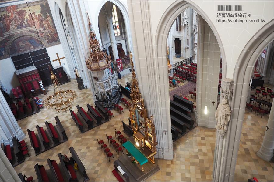 【科希策景點】聖伊麗莎白主教座堂St.Elizabeth Cathedral~斯洛伐克最大教堂+夜遊舊城區美景